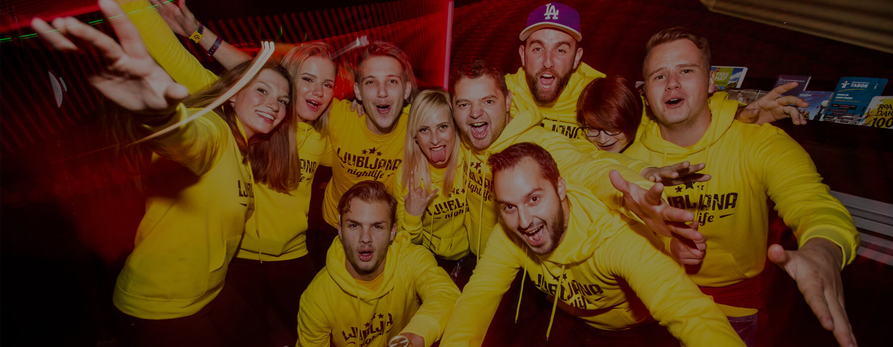 Ljubljana nightlife team is always ready for another party